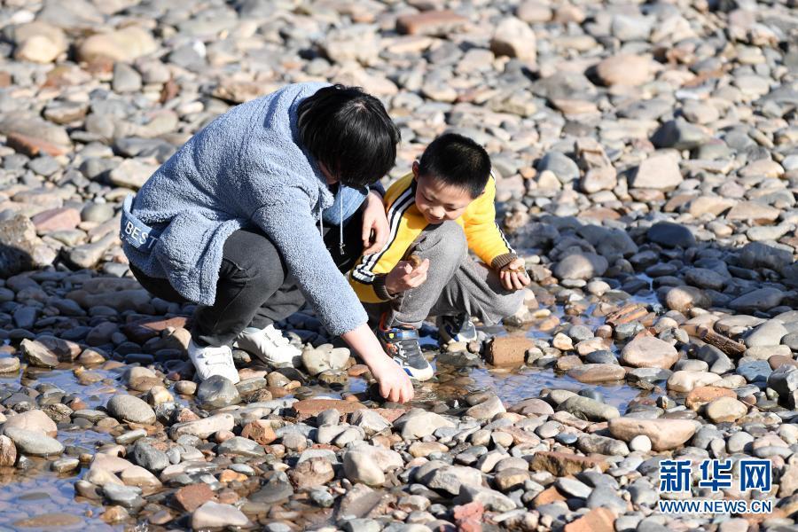 兰州:黄河春暖引游人
