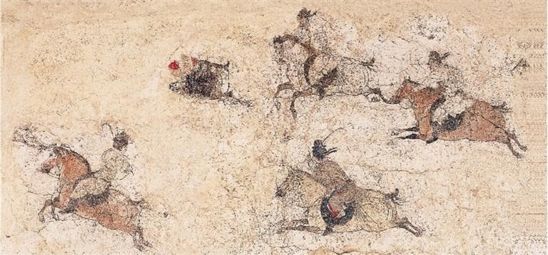 陕西文物里的体育运动
