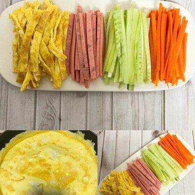 饺子皮春卷 颜值高味道 美食做法 第2张