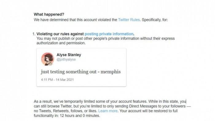 """发含""""Memphis""""推文禁言12小时?Twitter表示已修复该BUG"""