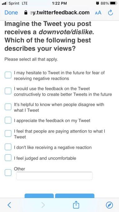 Twitter正在探索使用类似Facebook风格的表情符号反应
