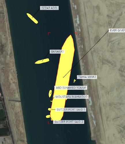 """突然重了!400米""""大堵船""""终于出了浅水区,原油直潜,369船""""破晓""""!世纪大堵塞的终结?"""