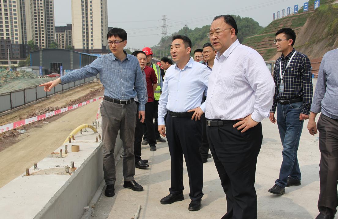 巴南区委书记辛国荣调研部分重点项目建设情况时要求 在确保安全质量环保的前提下高效率推进项目建设
