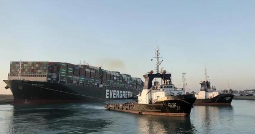 如果苏伊士运河封锁6天,长号将面临1亿美元的索赔!更多的客户仍在路上