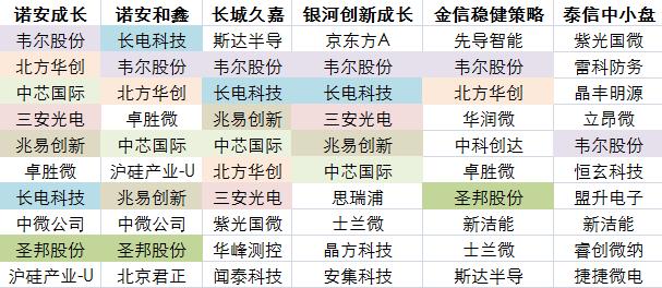 """芯片半导体连续两日大反攻!除了蔡嵩松,这些基金经理也""""下海""""了?"""