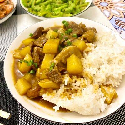 咖喱土豆牛腩饭(香浓简易版)舌尖上的养生美食 美食做法 第12张