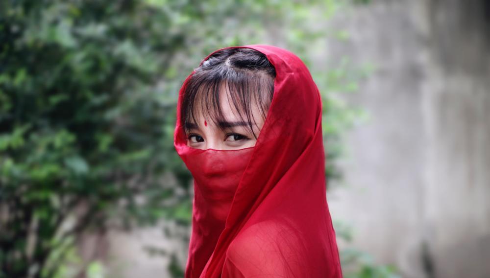 李子柒桃林游记