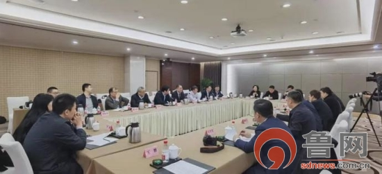 孟慶斌到北京臨沂企業商會、臨商聯盟考察