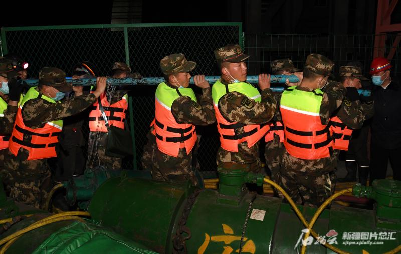 呼图壁县煤矿透水事故各项救援措施加紧实施