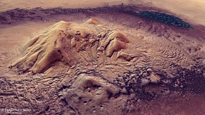 科学家研究发现火星表面下有适合微生物生存的成分-第1张图片-IT新视野