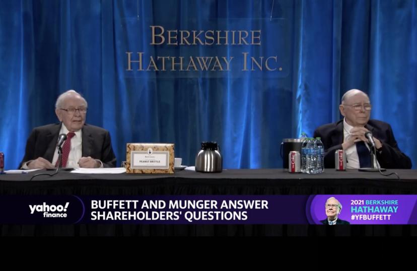 """巴菲特芒格重磅合体!""""我憎恨比特币的成功!""""9500亿现金储备,4小时股东大会信息量爆棚"""