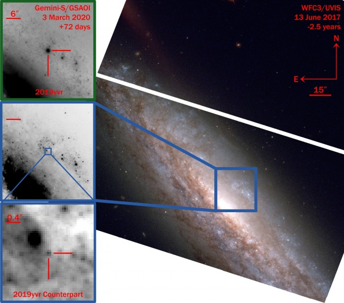 """新研究发现神秘的无氢超新星揭示了恒星曾经历剧烈爆炸或""""死亡之痛""""-第2张图片-IT新视野"""