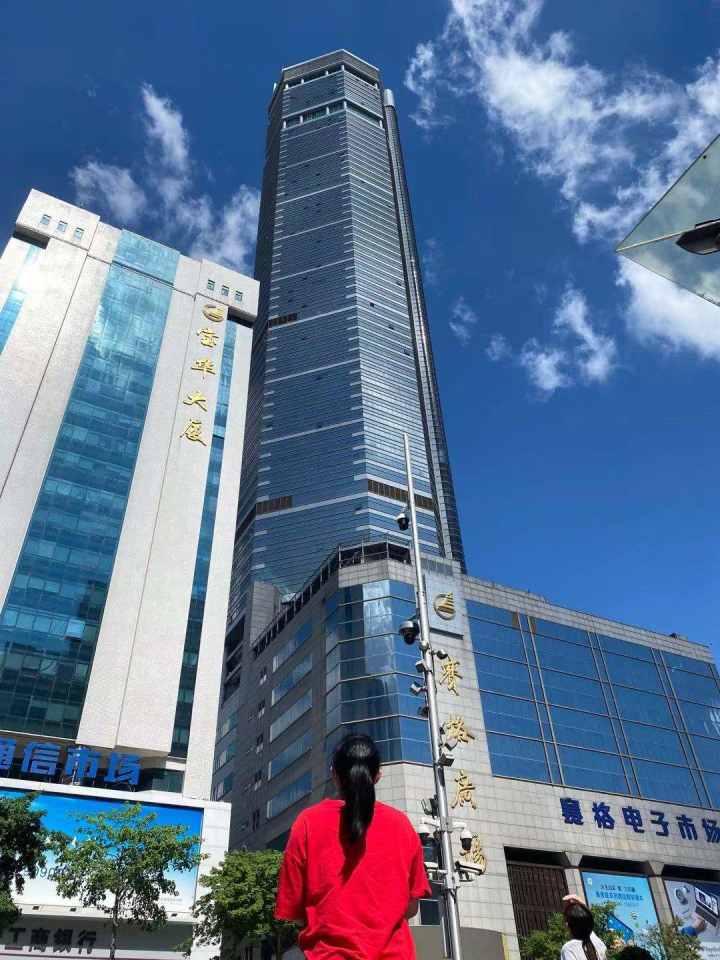 深圳赛格大厦摇晃,亲历者:有人从51楼跑下来,不敢再上班!网传通报称未安装阻尼器