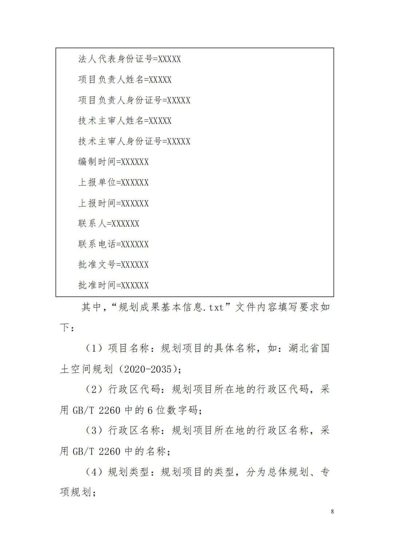 《省级国土空间规划成果数据汇交要求(试行)》印发
