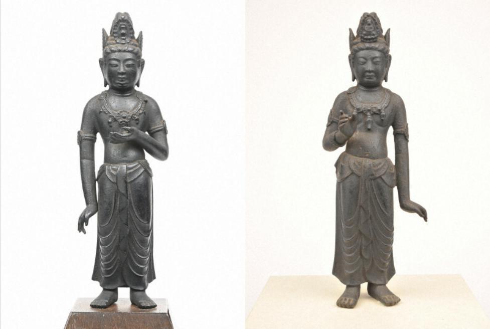 日本发现两座千年前菩萨像或为一对:来历不明 受初唐样式影响