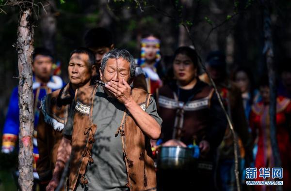 探秘敖鲁古雅传统婚礼