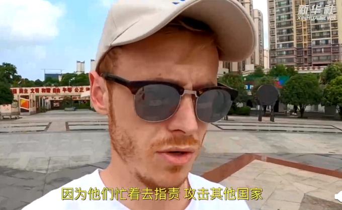 """英国小伙感叹中国疫苗接种速度,满满""""自豪感""""!外网友:还不止呢"""