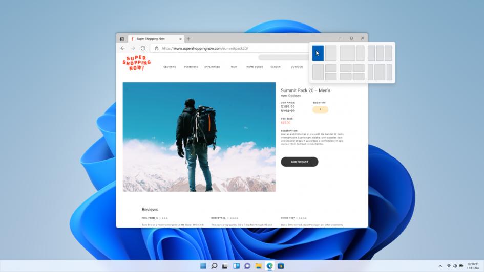 Windows 11正式版将于10月5日上线:免费升级但暂不支持安卓应用