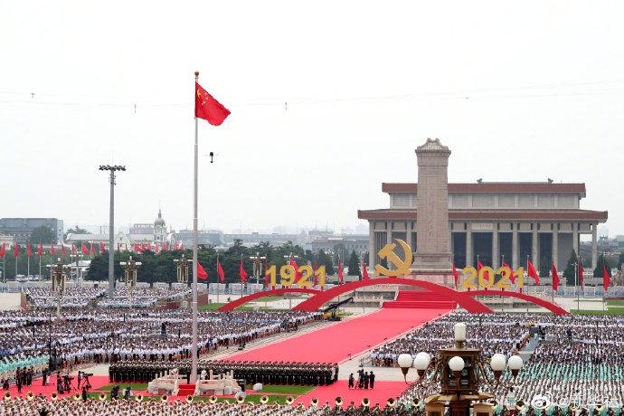 揭秘 | 参加庆祝大会的数万人如何抵达、撤离广场?