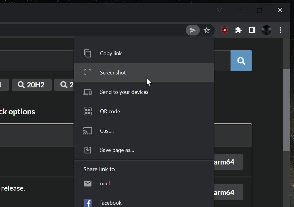 Google正在为Chrome浏览器增加一个截图工具
