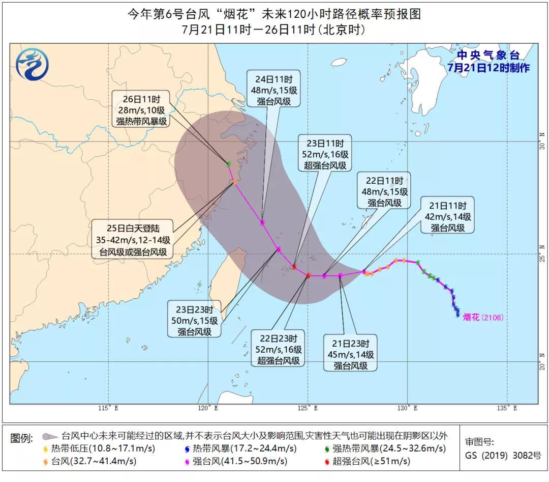 """台风""""烟花""""会怎么走?一个视频告诉你台风走向的""""套路"""""""