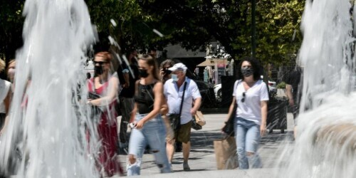 希腊新一轮热浪天气将至 气温最高可达45℃