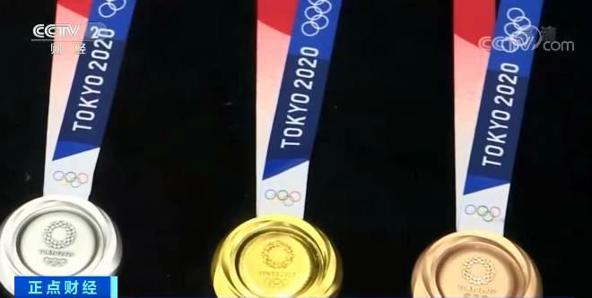 """金牌其实不是纯金的!奥运奖牌""""成本价""""是多少?"""