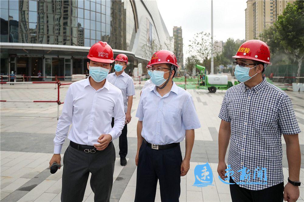 陈忠伟调研中心城市建设重点工程:加快建设进度 确保工程质量 以项目建设之效助力中心城市能级加快提升