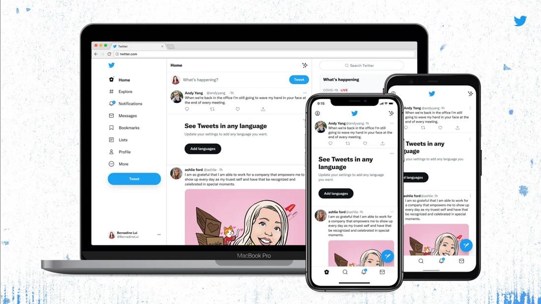 推特推出改版网站