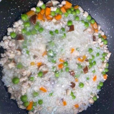 好吃的2岁宝宝辅食,补锌南瓜猪肉烩饭,你在哪里呀