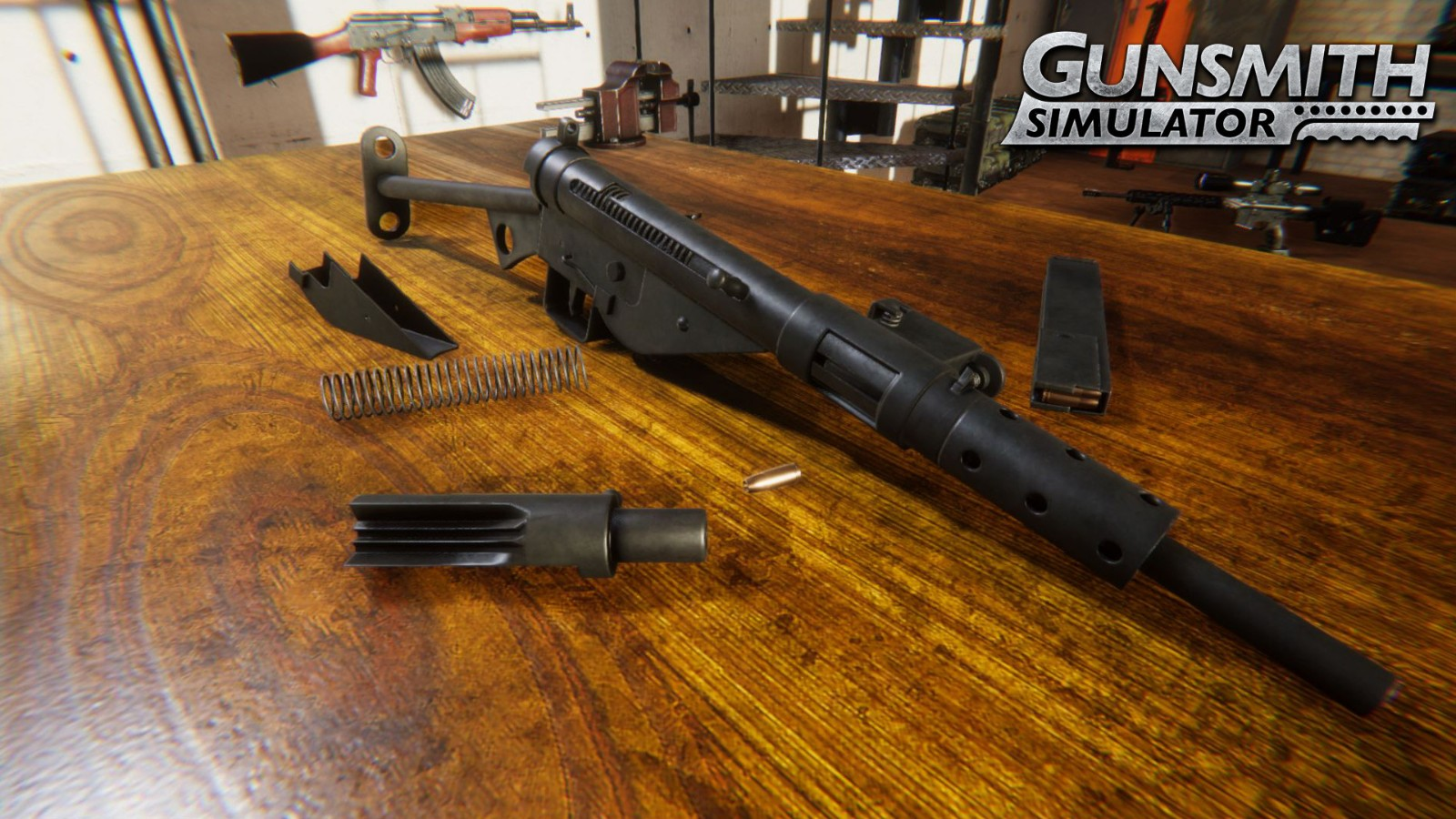 """The new simulation game """"Gun Repair Shop"""" is on Steam and supports Chinese dubbing"""