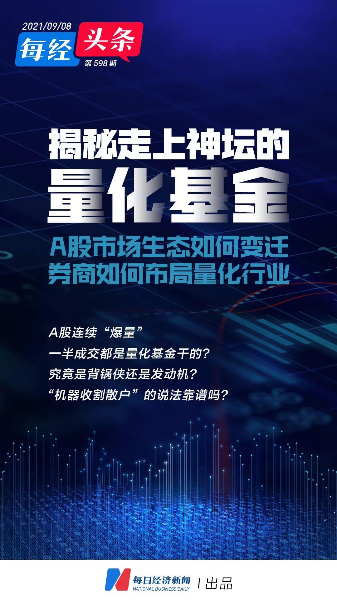 """揭秘走上神坛的万亿量化基金:占A股成交或约10%,究竟是""""背锅侠""""还是""""发动机""""?"""