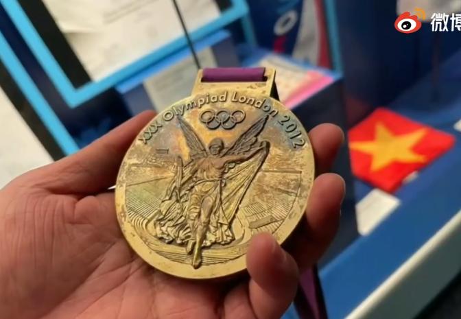 奥运帆船冠军徐莉佳:我的伦敦奥运金牌氧化了……
