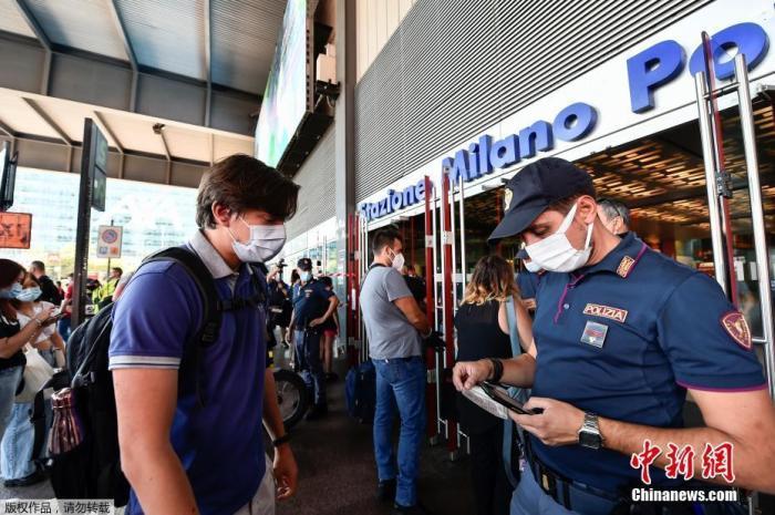 意大利通过全民健康码法令后 疫苗接种者骤增