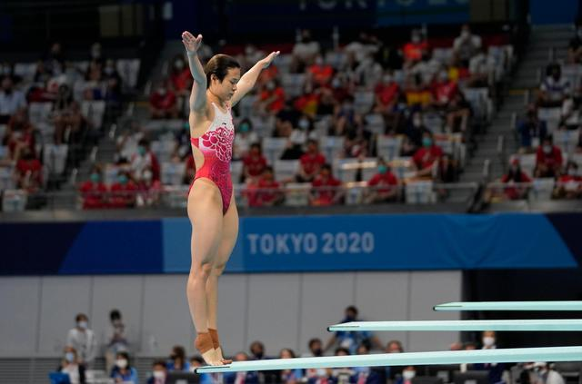 施廷懋因伤退出女子三米板争夺