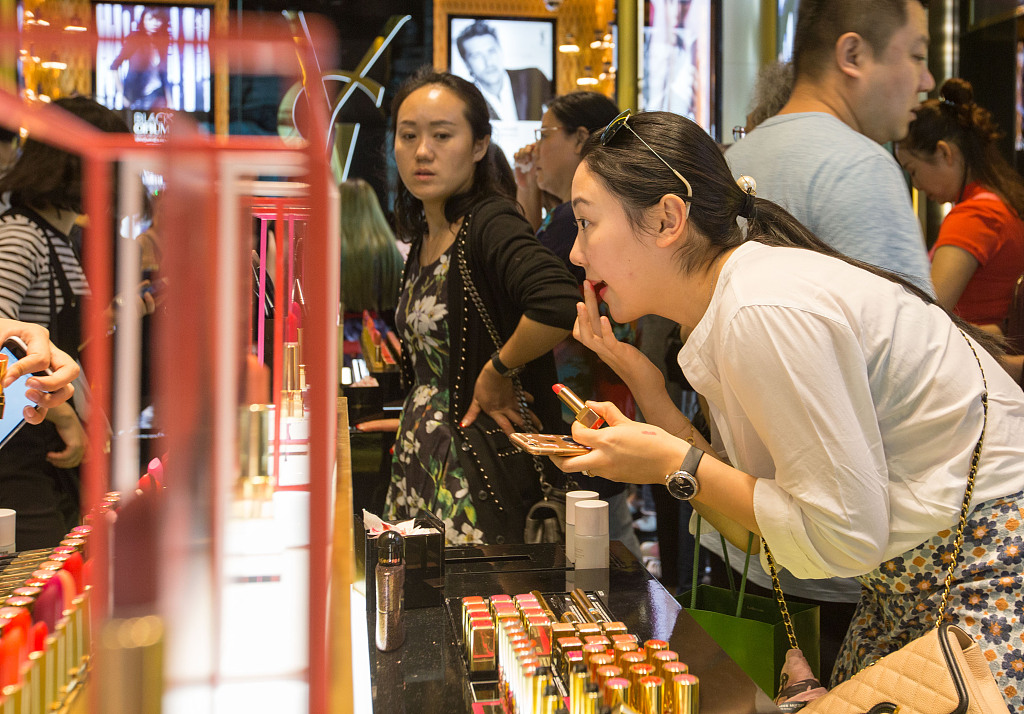 """日媒:中国国产化妆品大受欢迎,""""韩国化妆品的时代已结束"""""""