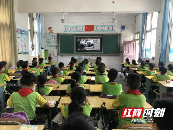 """吉首市乾城小学:开展""""从小立志、强国有我""""的国防教育周活动"""