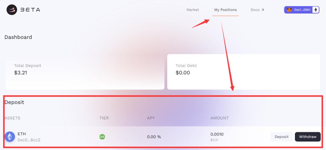 确定性机会!Beta Finance空投操作指南