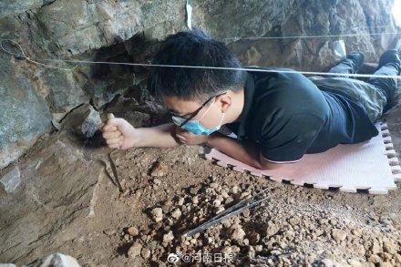 河南发现3万年前现代人头骨