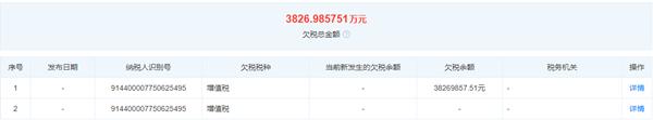 广东恒安药业让他人为自己虚开发票9.29亿元 被国税局追征税款及各项费用3.55亿元
