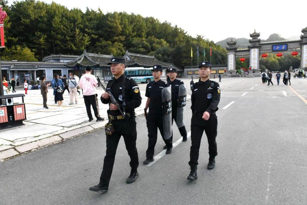 【祝福祖国守护平安】鞍山市公安局圆满完成国庆长假安保工作