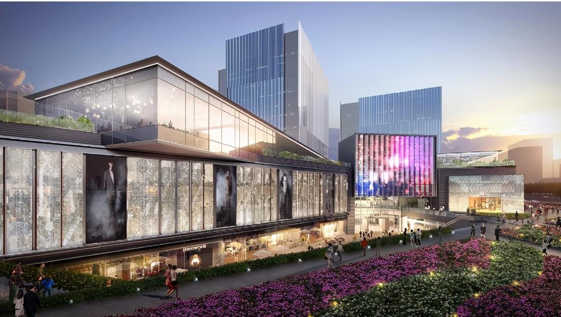 上德中心:梦想的启航地 时尚可玩的大型城中花园