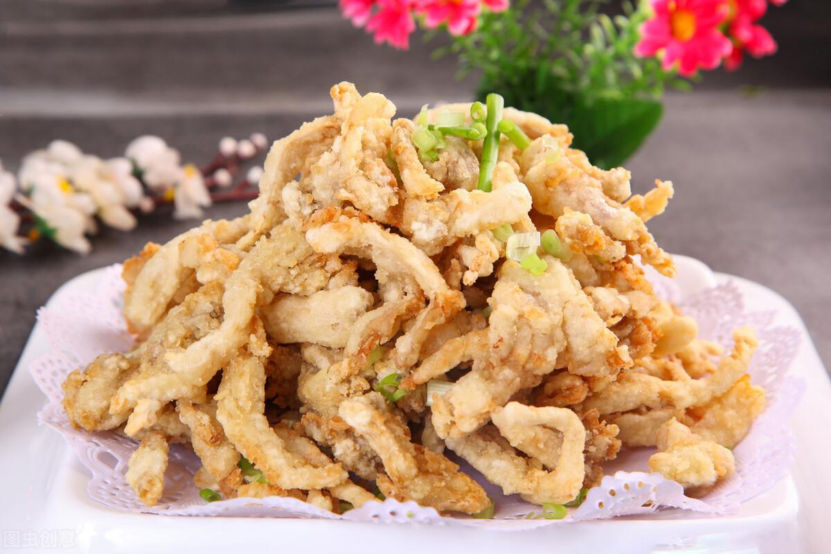 饭店里的炸蘑菇为啥那么好吃?调制脆皮糊很关键,大厨教你这样做 美食做法 第9张