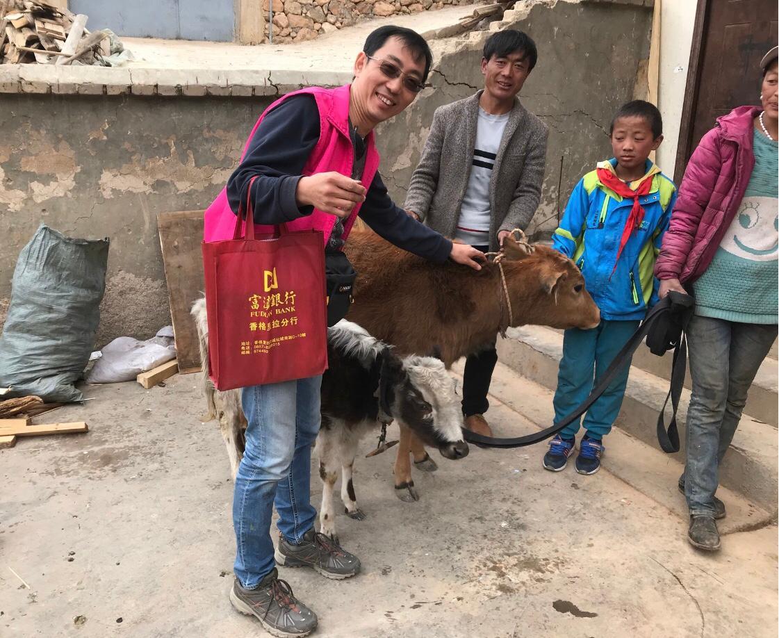 贝博体彩app不断努力精进郭泇妏发声呼吁各界一起捐牛