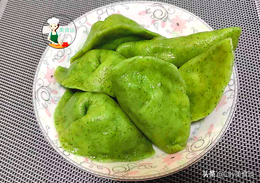 艾叶饺子做法步骤图 现在吃正当季