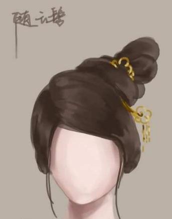 古装剧中的发型,你认识几个?没想到这些发型居然这么好看
