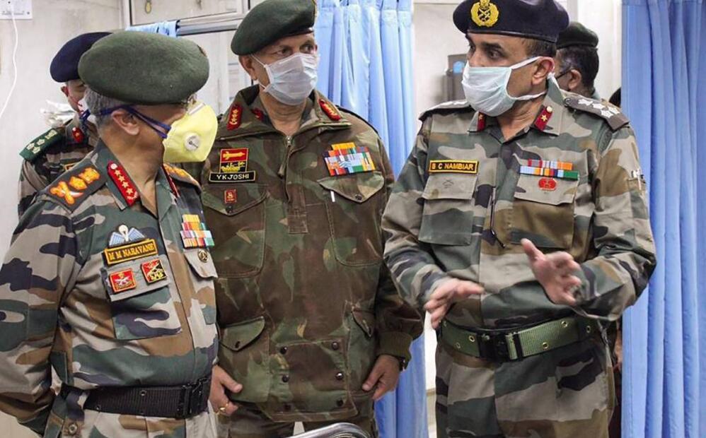 中印边境对峙,4000名印军开始打新冠疫苗,一个细节值得中国警惕