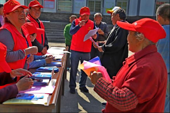 四川省旺苍县:发挥老干部作用 成立志愿服务队