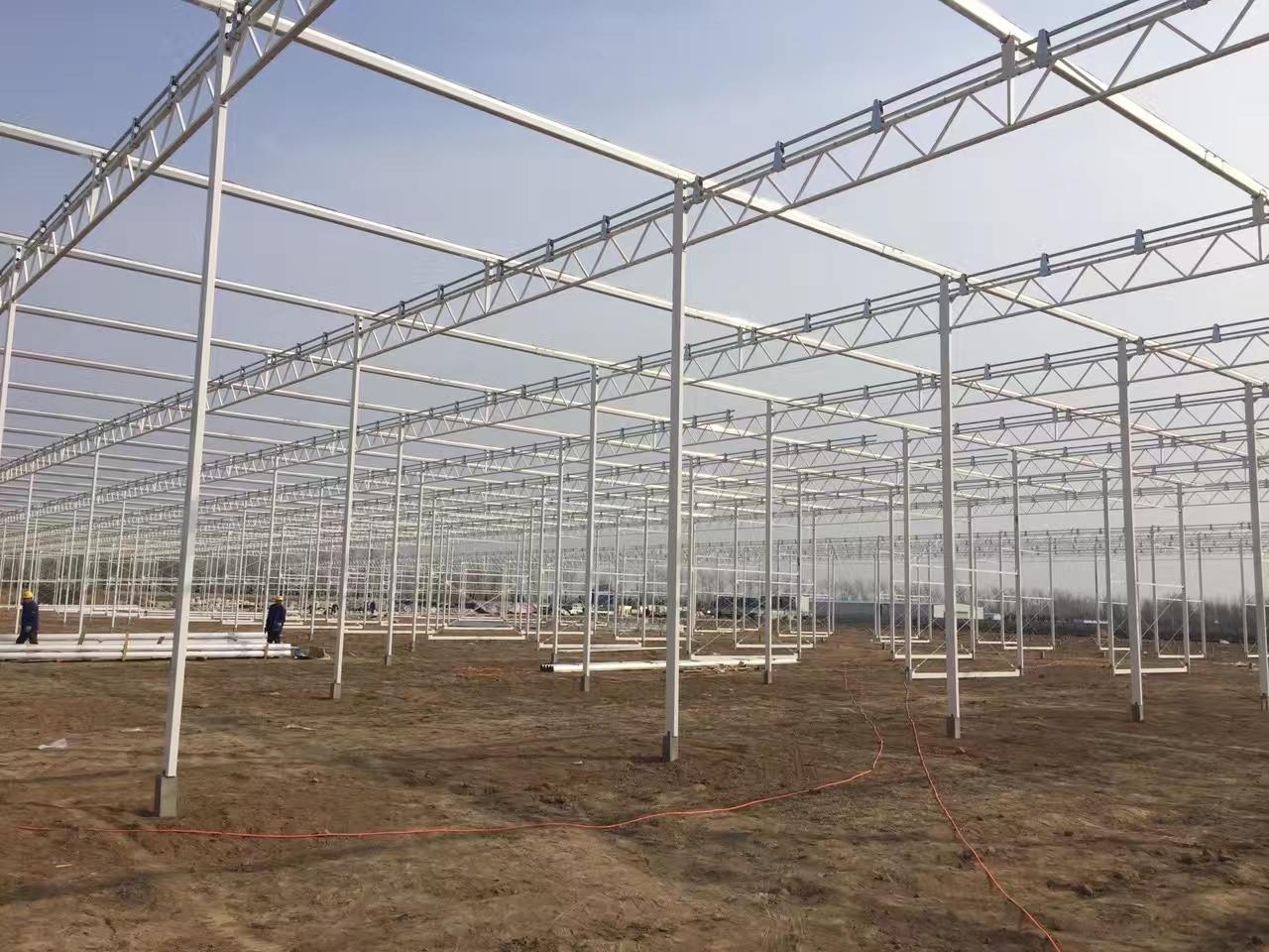 玻璃温室大棚提高抗雪能力的几个重要点、建造智能温室可参考