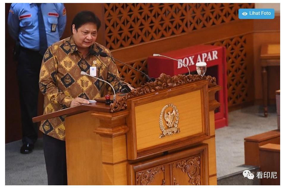 印尼经济部长:政府允许外国人入境